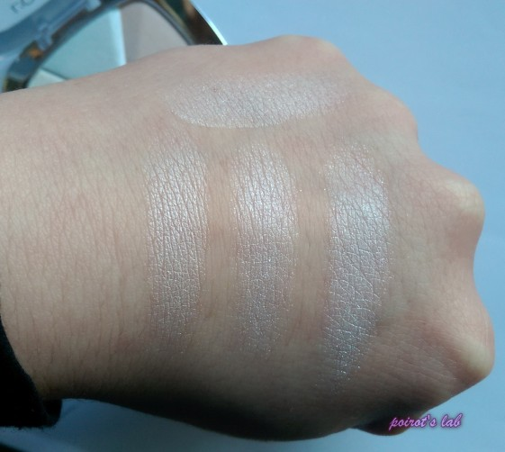 Loreal Highlighter swatch 2