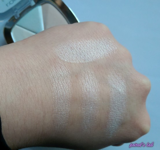 Loreal Highlighter swatch