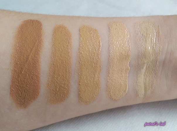 gosh foundation swatch